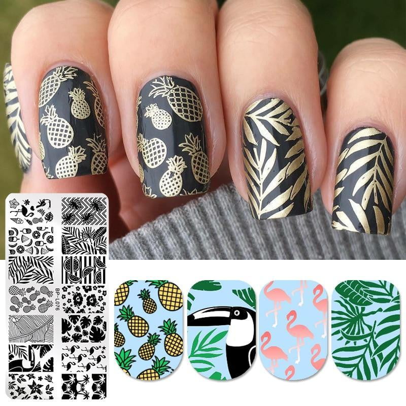 BORN PRETTY - Nail Stamping Templates - Naily