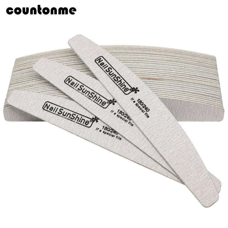 countonme - 7Pcs Wooden Nail File - Naily