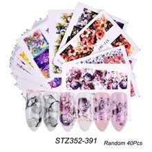 Load image into Gallery viewer, Full Beauty - 1 Set Mixed Design New Nail Art Sticker - Naily