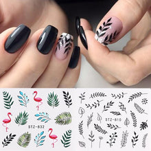 Load image into Gallery viewer, Full Beauty - 1pc Nail Stickers Decal - Naily