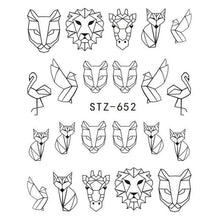 Load image into Gallery viewer, Full Beauty - 1pcs Sticker Hollow Tattoo Decals - Naily