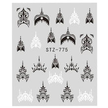 Load image into Gallery viewer, Full Beauty - Lace Necklace Decals Sticker - Naily