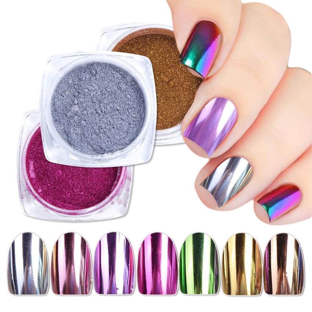 Full Beauty - Magic Mirror Nail Dip Powder - Naily