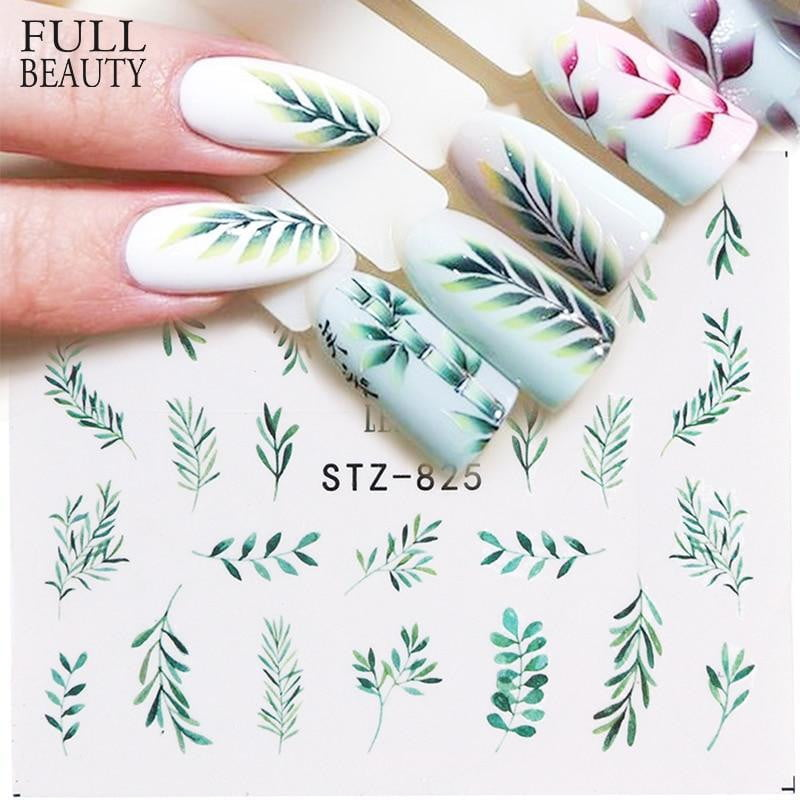 Full Beauty - Nail Decal and Sticker Flower - Naily