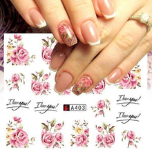 Load image into Gallery viewer, Full Beauty - Nail Sticker Flower - Naily