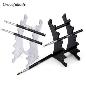 Gracefullady - Brush Holder Nails - Naily