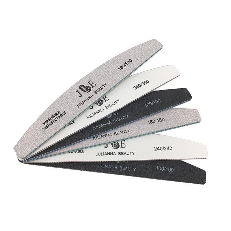 Julianna Beauty - 6pcs Grit Files Double-Side - Naily