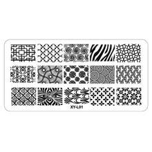 Load image into Gallery viewer, Kimcci - Nail Art Stamping Plate - Naily