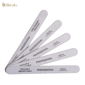 klimonla - 10pcs/lot Sandpaper Nail File - Naily