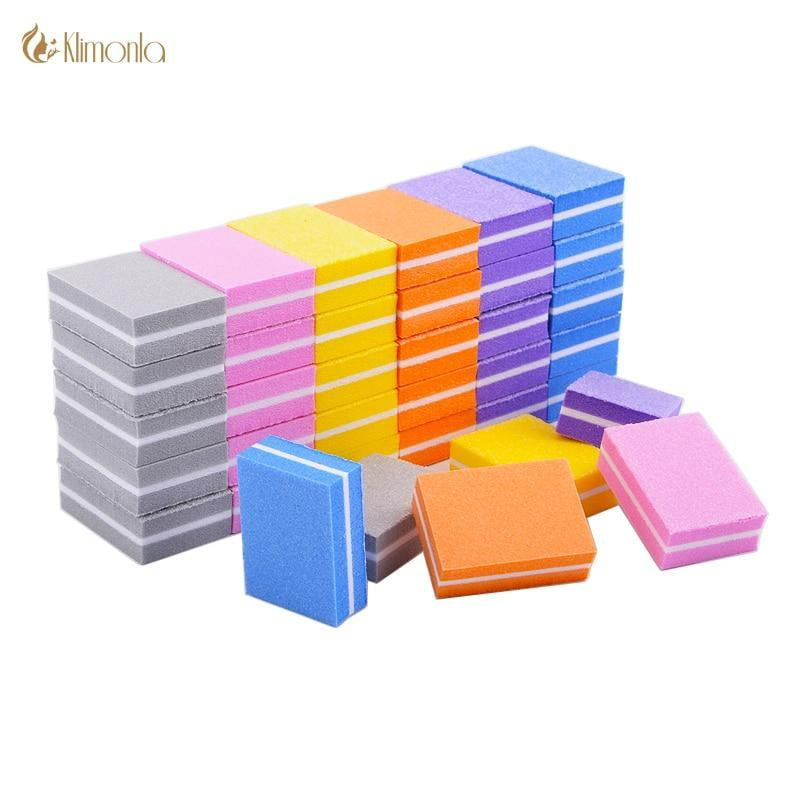 klimonla - 20pcs/lot Double-sided Mini Nail File - Naily
