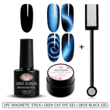 Load image into Gallery viewer, Magnetic 5D Cat Eye UV Gel Nail Polish Magnet Laser - Naily