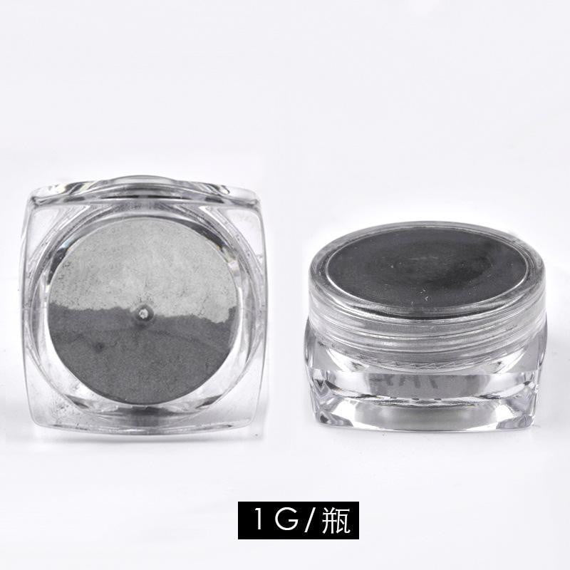 MANZILIN - Glitter Powder (Mirror Black) - Naily