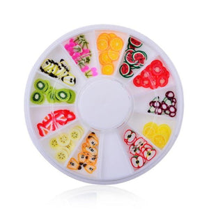 MANZILIN - Wheel Tips Crystal Glitter Rhinestone - Naily