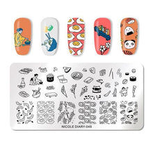 Load image into Gallery viewer, NICOLE DIARY - Stamping Plates Stainless Steel - Naily