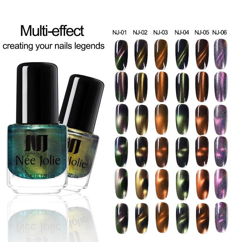 NEE JOLIE - Magnetic Cat Eye Nail Polish-Naily