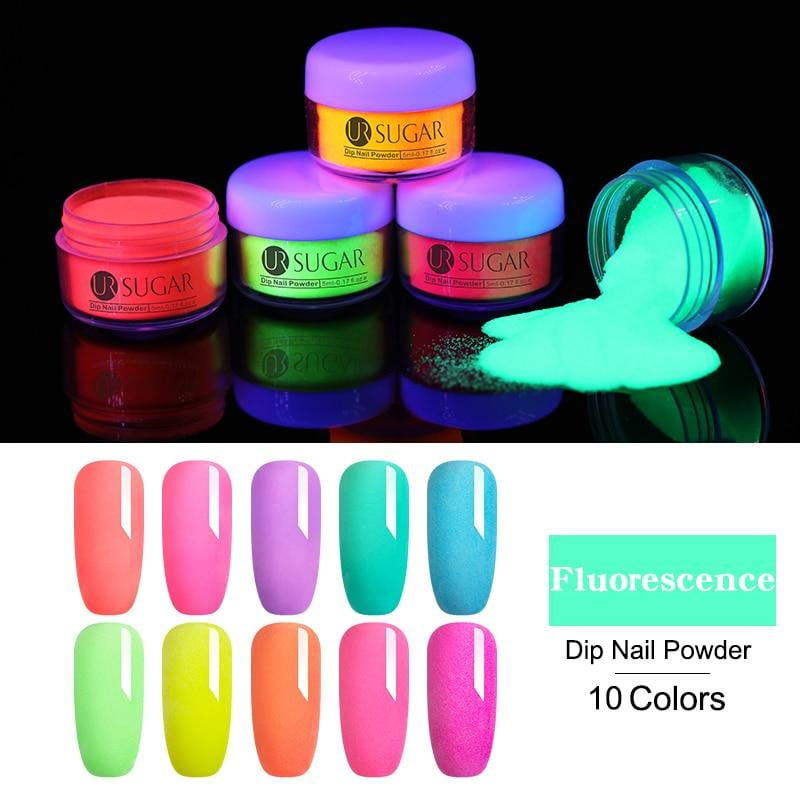 UR SUGAR - Fluorescence Dip Nail Powder Natural-Naily