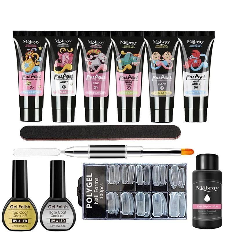 LGHZLINK - Poly Gel Manicure Set-Naily