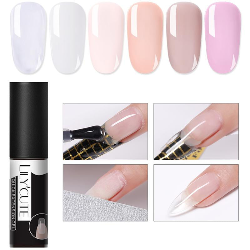 LILYCUTE - French Nail Builder Poly Jelly Gel-Naily