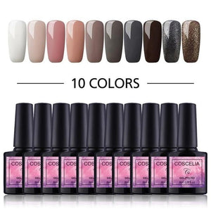 COSCELIA - Gel Nail Polish Nail Kits-Naily