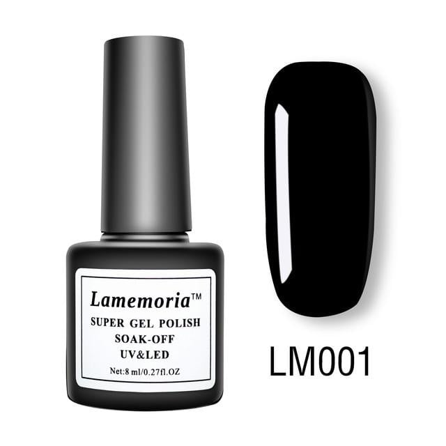 Lamemoria - Nail Polish Gel Varnish Hybrid-Naily