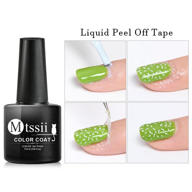 Mtssii - Anti-freezing Peel Off Liquid Nail Art-Naily