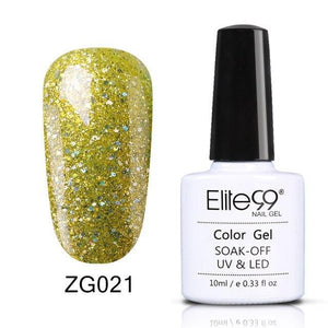 Elite99 - Glitter Pearl Color Nail Polish-Naily