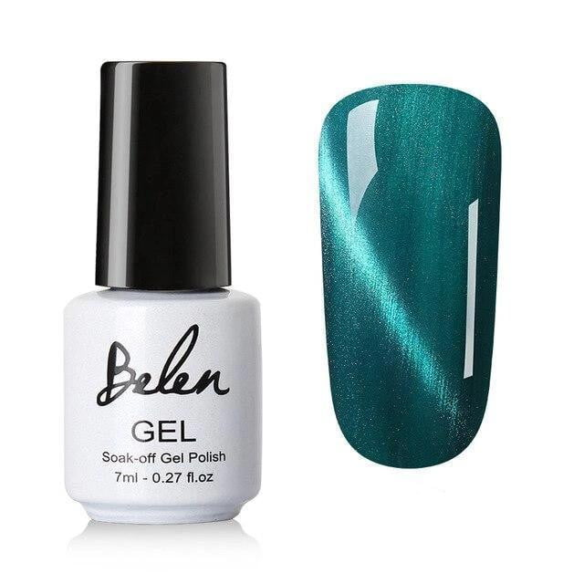 Belen - 3D Cat Eye Gel Nail Polish Magnet Effect-Naily