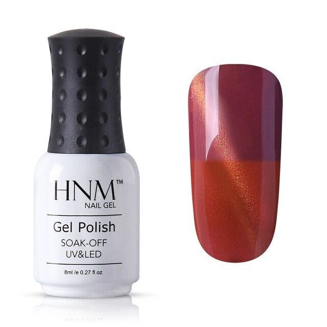HNM - Cat Eye Temperature Color Change-Naily