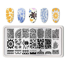 Load image into Gallery viewer, BORN PRETTY - Nail Stamping Plates Flamingo-Naily