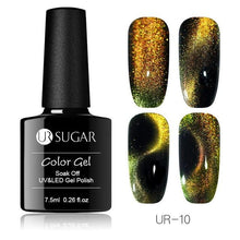 Load image into Gallery viewer, UR SUGAR - 9D Cat Eye Nail Gel Polish Chameleon Magnetic-Naily