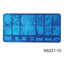 Load image into Gallery viewer, ROSALIND - Flower DIY Polish Stamping Clear - Naily