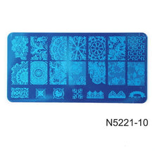 Load image into Gallery viewer, ROSALIND - Nail stamping plates Stamper Scraper - Naily