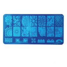 Load image into Gallery viewer, ROSALIND - Nail Stamping Plates Stamper Scraper