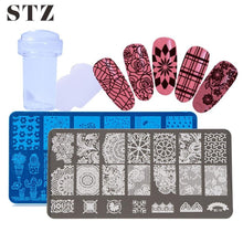 Load image into Gallery viewer, STZ - 2pcs Stamping Template - Naily