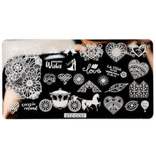 Load image into Gallery viewer, STZ - Flamingo Summer Nail Stamping Plates - Naily