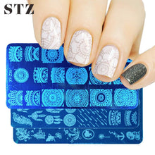 Load image into Gallery viewer, STZ - Nail Templates Stamping Plate - Naily