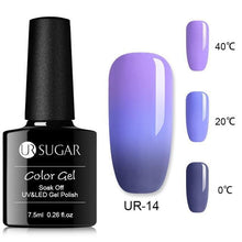Load image into Gallery viewer, UR SUGAR - Rainbow Thermal Gel - Naily