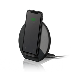 Dock Marquetry Wireless Charger - Black