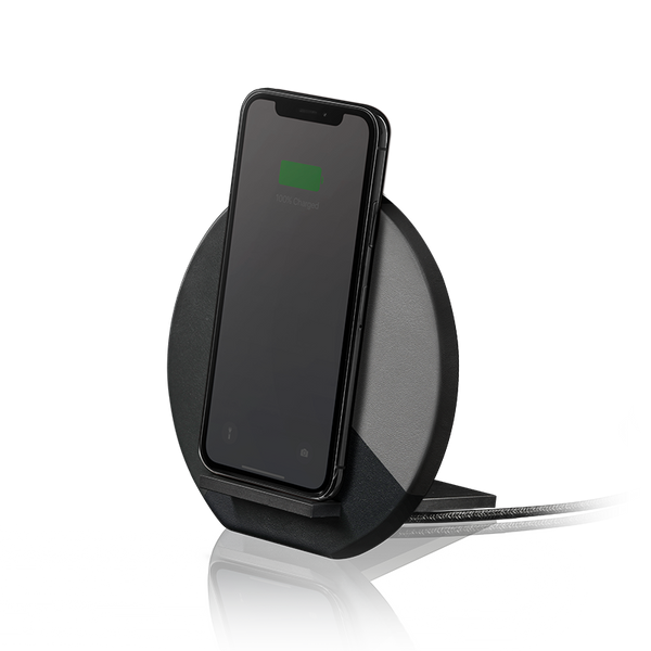 __sku:DOCK-WL-MARQ-GRY;Dock Marquetry Wireless Charger - Black