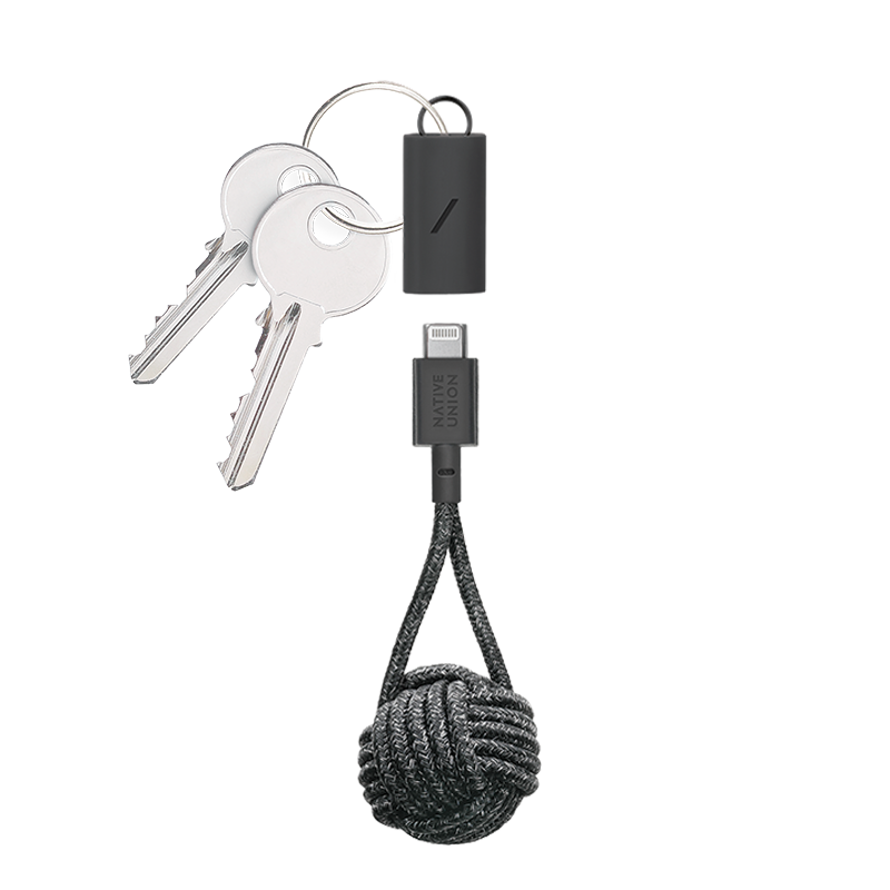 __sku:KEY-CL-CS-BLK-AP;Key Cable - Cosmos - USB-C to Lightning