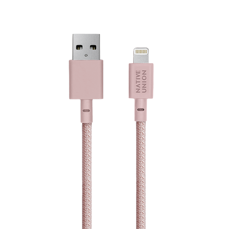__sku:NCABLE-KV-L-ROSE;Night Cable - Rose - USB-A to Lightning