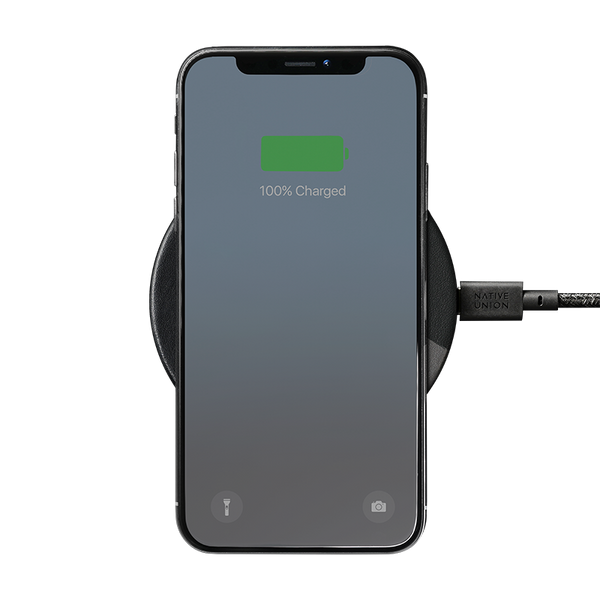 __sku:DROP-GRY-MARQ-V2;Drop Marquetry Wireless Charger - Black