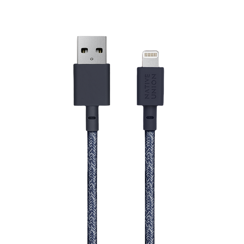 __sku:NCABLE-KV-L-IND;Night Cable - Indigo - USB-A to Lightning