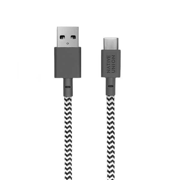 34253181780107,Night Cable (USB-A to USB-C) - Zebra