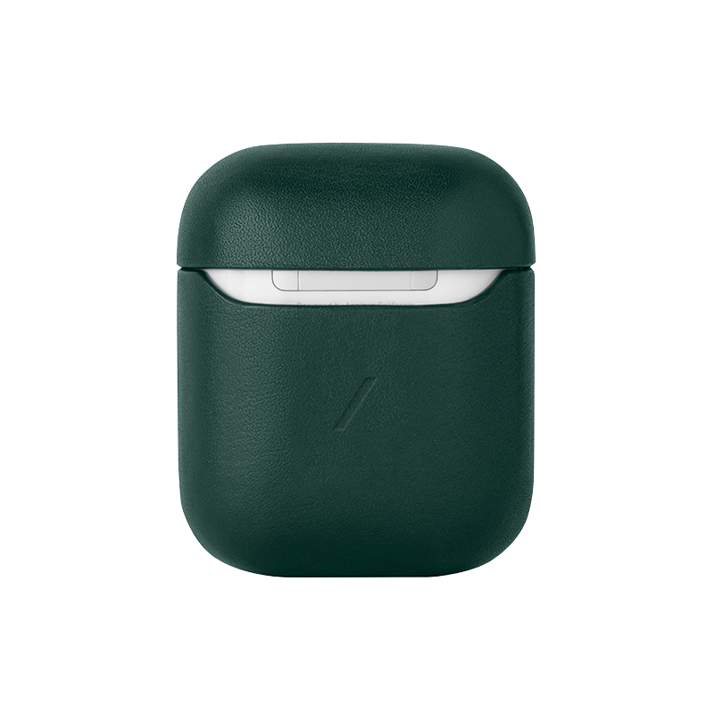 __sku:APCSE-LTHR-GRN-AP;Leather Case for AirPods - Green