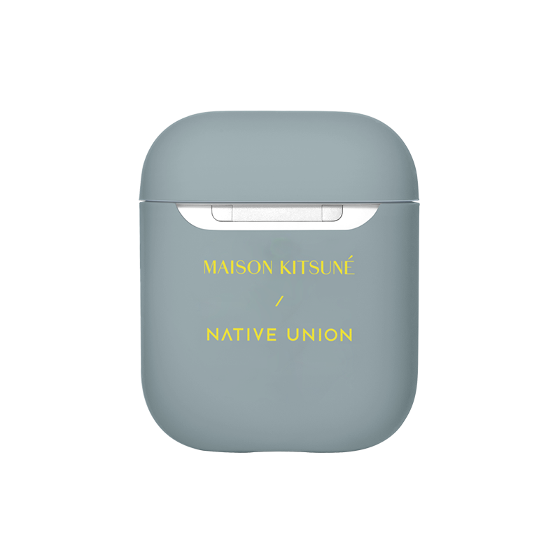 __sku:APCSE-BLU-MK;Maison Kitsuné Case for AirPods - Blue / AirPods