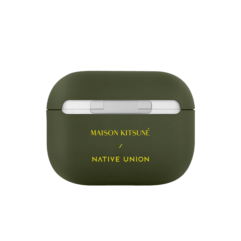__sku:APPRO-GRN-MK;Maison Kitsuné Case for AirPods - Green / AirPods Pro