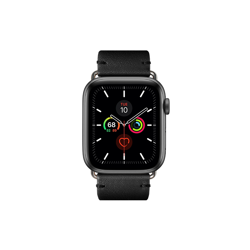 __sku:STRAP-AW-L-BLK;Classic Strap for Apple Watch - Black - 42mm / 44mm
