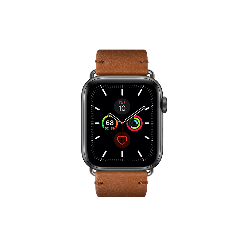 __sku:STRAP-AW-L-BRN;Classic Strap for Apple Watch - Brown - 42mm / 44mm