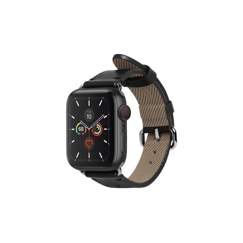__sku:STRAP-AW-S-BLK;Classic Strap for Apple Watch - Black - 38mm / 40mm